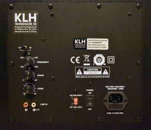 KLH KENDALL 5.2 SPEAKER SYSTEM REVIEW - 5