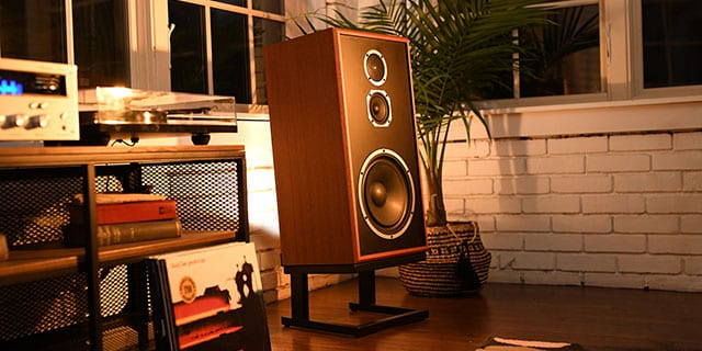 Model Five Acoustic Suspension Speaker