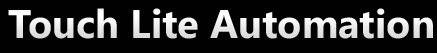 Touch Lite Automation logo